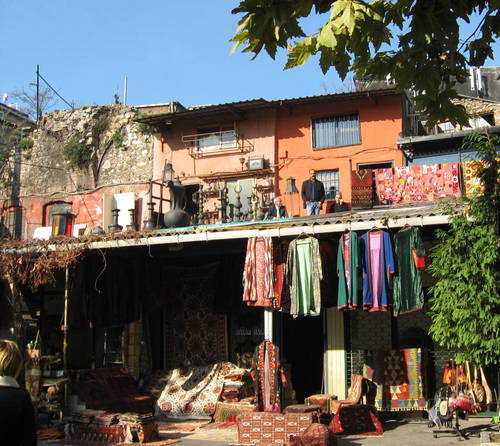 shop on the roof - Istanbul