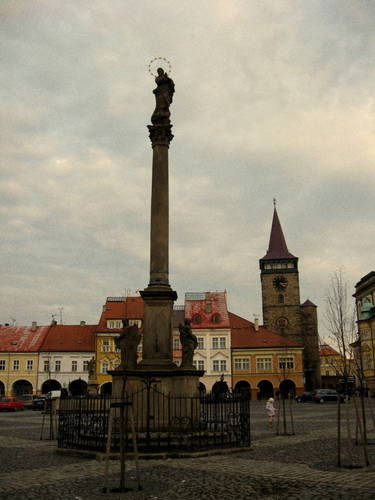 Jičín - plague column
