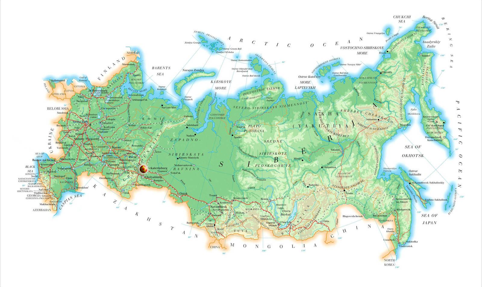 How many km from Ekaterinburg to Moscow Overcoming the distance in several ways 23