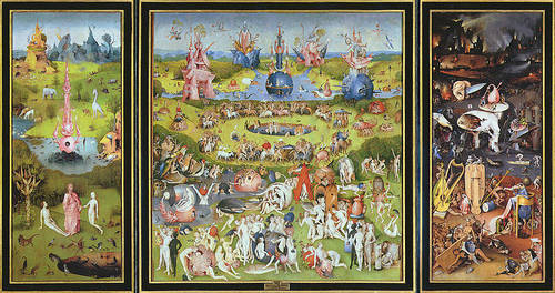 The Garden of Earthly Delights , Hieronymus Bosh