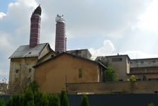 Nitra - the structure of former brewery