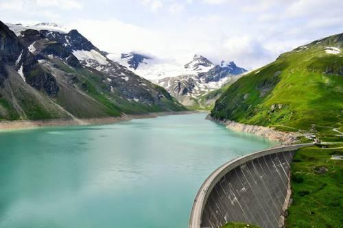Austria Kaprun Alpine Dams Of Wasserfallboden And